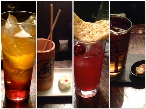 Purl cocktails