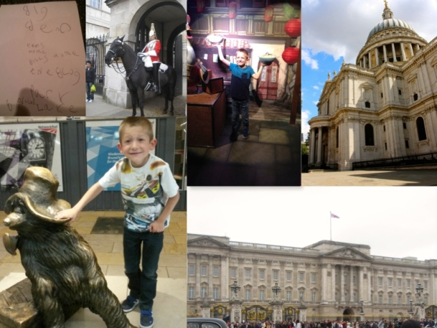 Charlie does London